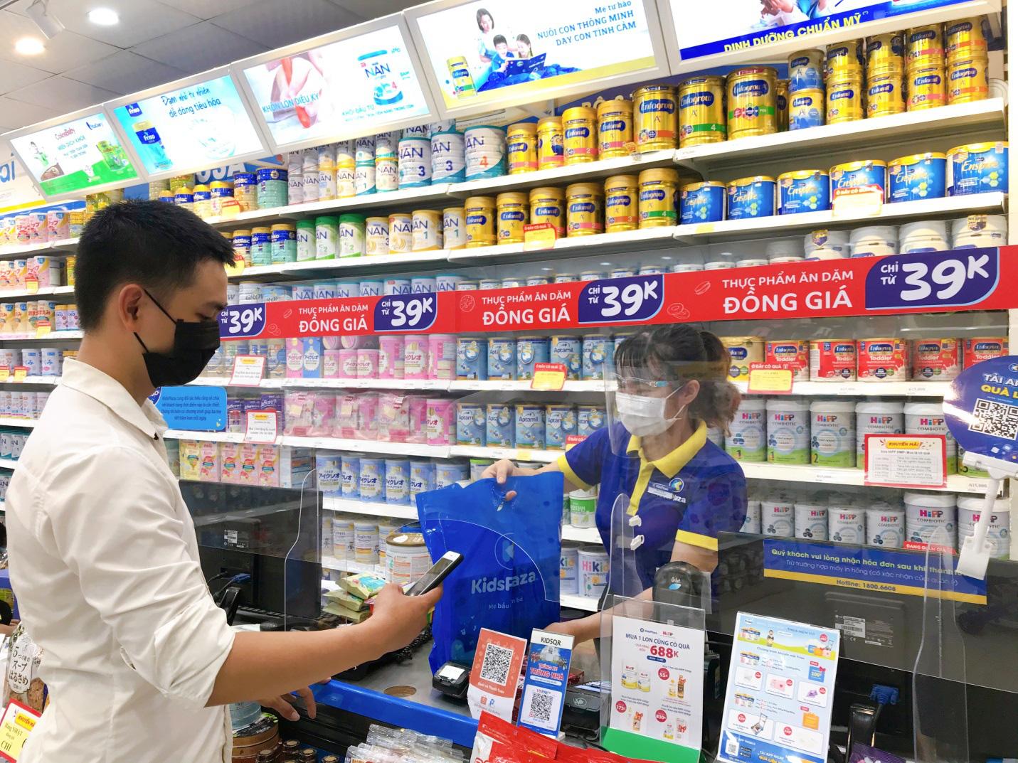 Mua bỉm sữa, gạo, thịt ngay tại chuỗi cửa hàng mẹ và bé - Ảnh 3.