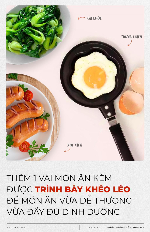 Mẹ toàn năng hô biến cơm chiên trứng đơn giản nhưng khiến bé yêu mê tít - Ảnh 4.