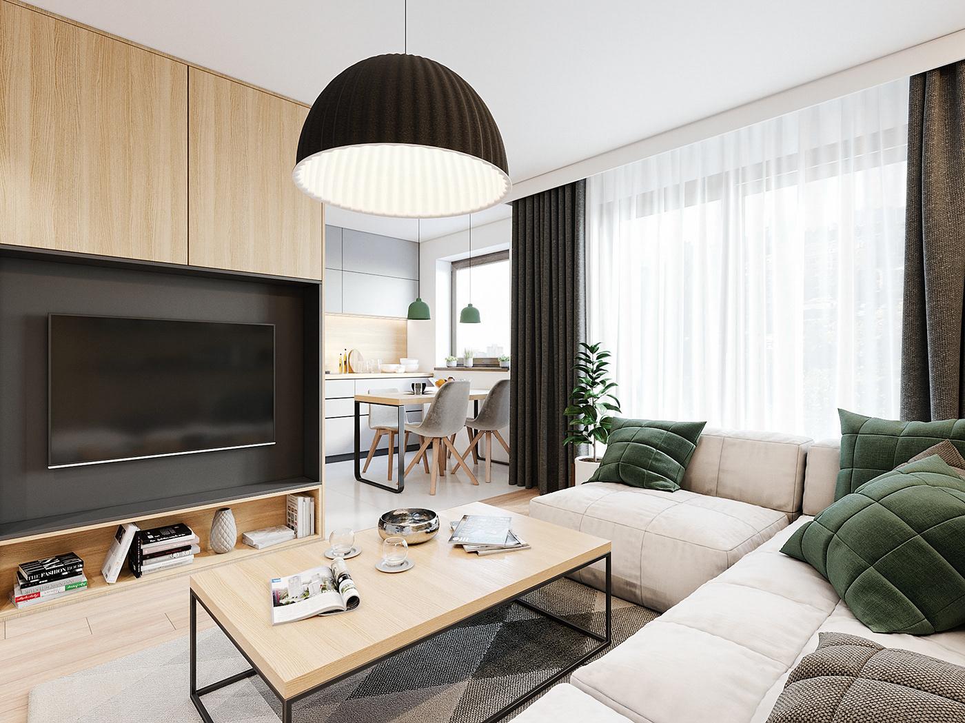 Tư vấn thiết kế căn hộ 90m² theo phong cách Scandinavian cho gia đình 3 người, chi phí 200 triệu - Ảnh 5.
