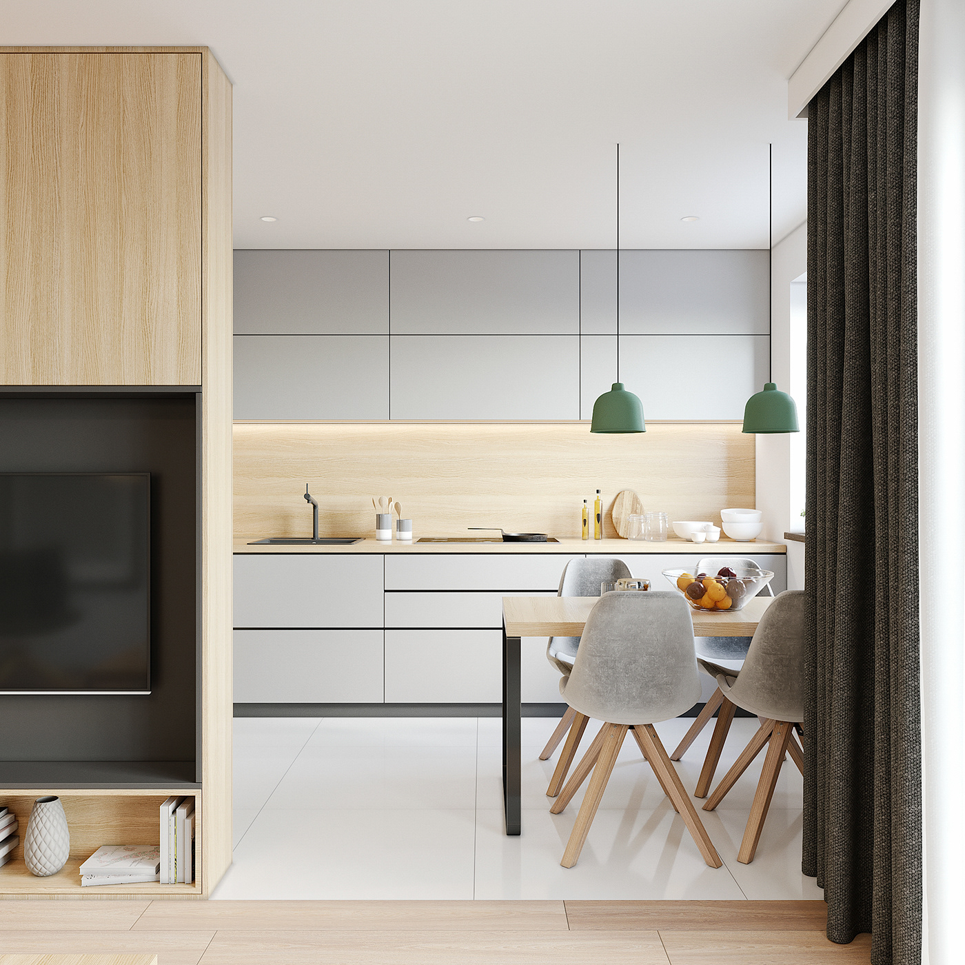 Tư vấn thiết kế căn hộ 90m² theo phong cách Scandinavian cho gia đình 3 người, chi phí 200 triệu - Ảnh 6.