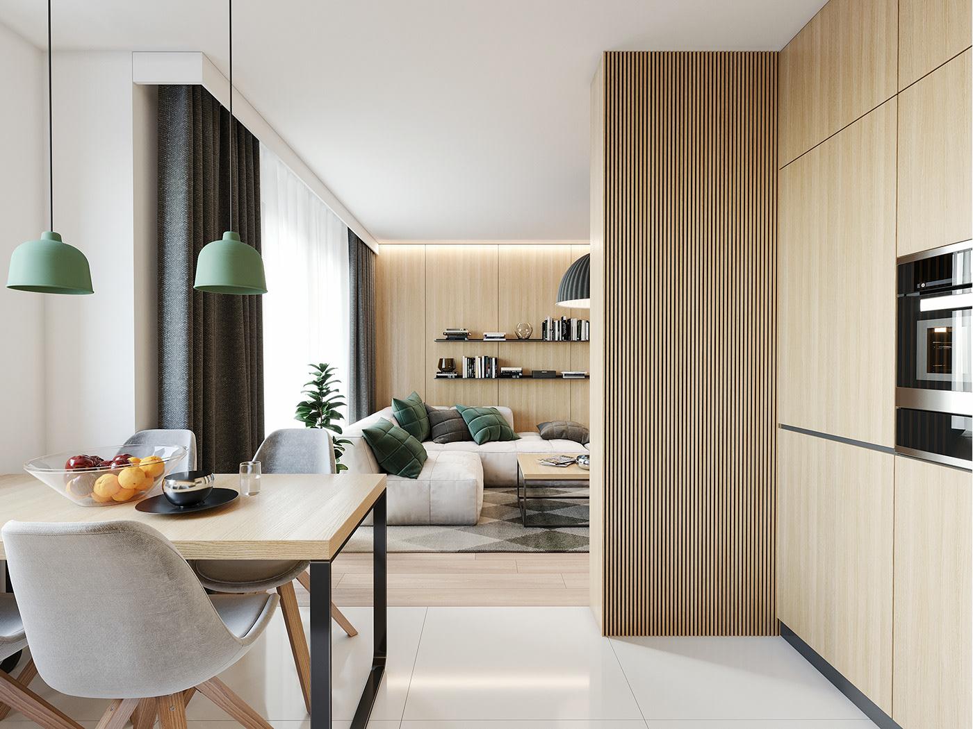 Tư vấn thiết kế căn hộ 90m² theo phong cách Scandinavian cho gia đình 3 người, chi phí 200 triệu - Ảnh 7.