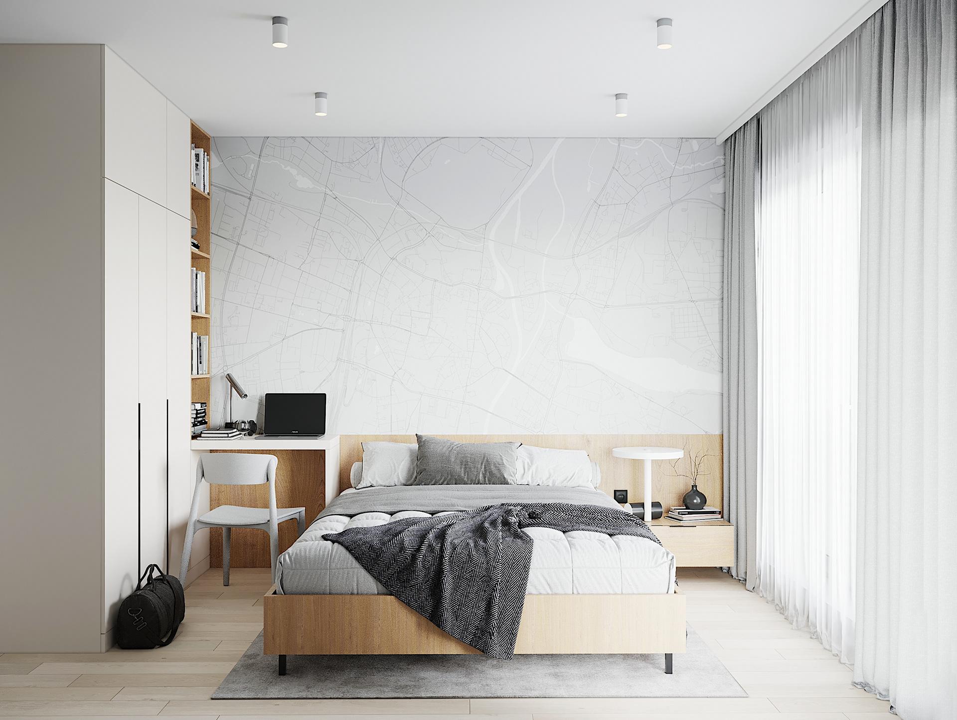 Tư vấn thiết kế căn hộ 90m² theo phong cách Scandinavian cho gia đình 3 người, chi phí 200 triệu - Ảnh 8.