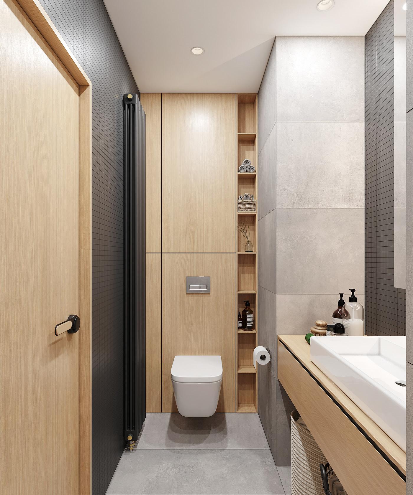 Tư vấn thiết kế căn hộ 90m² theo phong cách Scandinavian cho gia đình 3 người, chi phí 200 triệu - Ảnh 12.