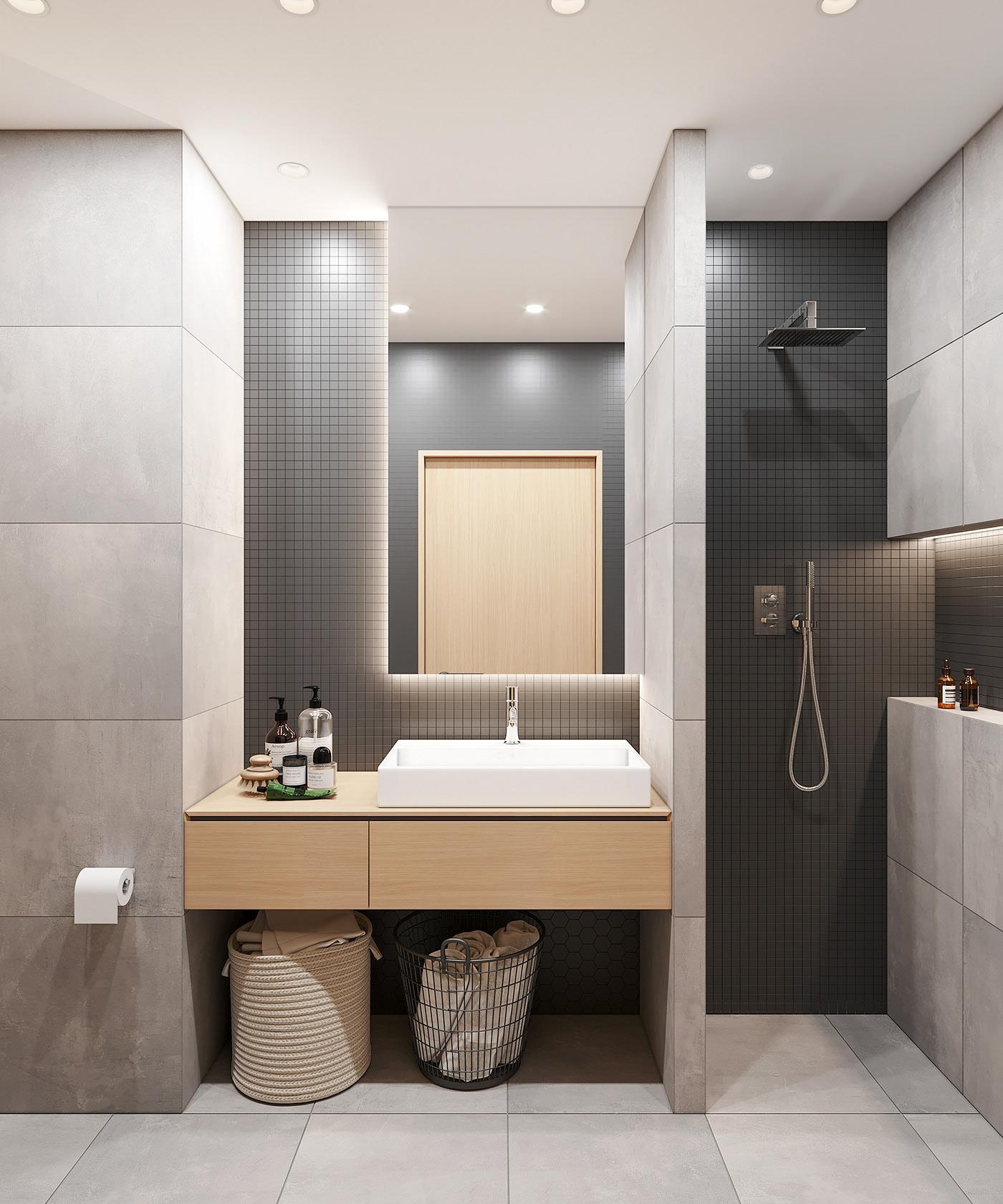 Tư vấn thiết kế căn hộ 90m² theo phong cách Scandinavian cho gia đình 3 người, chi phí 200 triệu - Ảnh 13.