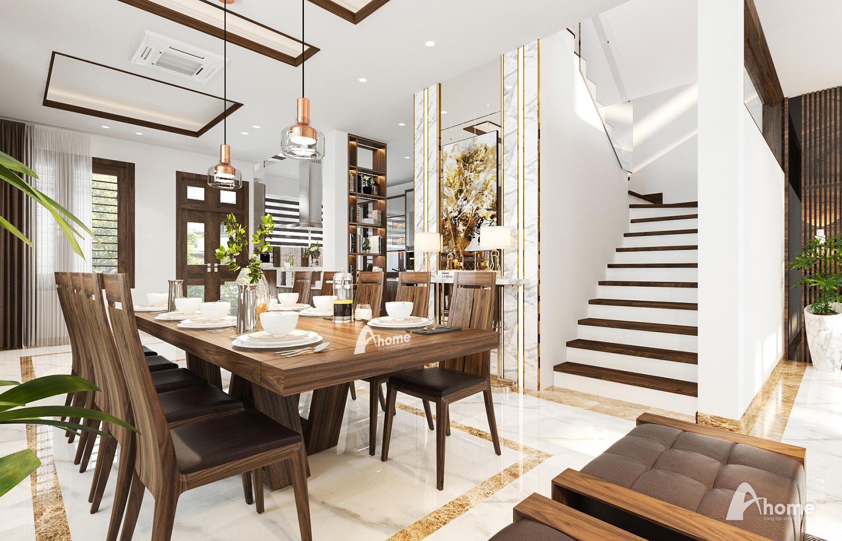 Nội thất gỗ óc chó Ahome khơi gợi cảm hứng hiện đại, tiện nghi và sang trọng cho không gian gia đình - Ảnh 2.