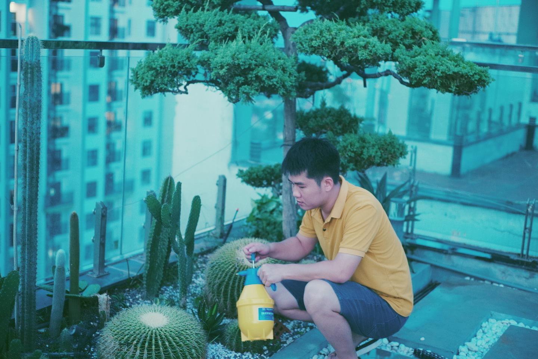 """""""Hồ sen"""" với đủ loại hoa hiếm trên penthouse 300m² của travel blogger dành tặng vợ ở Hà Nội - Ảnh 22."""
