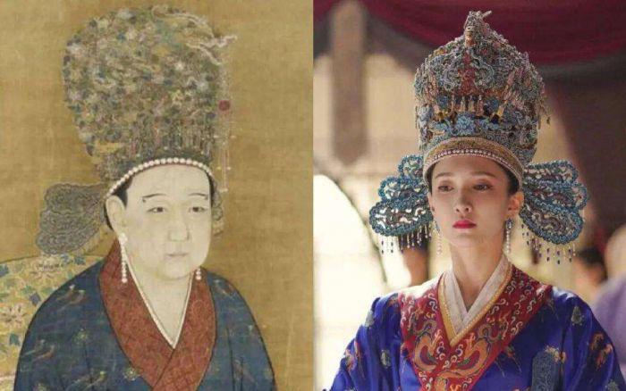 Chiếc mũ cồng kềnh của vị Quý phi thời nhà Tống từng bị chê làm quá trên phim nhưng tìm hiểu mới bất ngờ với lịch sử của nó