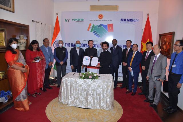 Tin vui: Một công ty Ấn Độ ký thỏa thuận với Nanogen để chuyển giao công nghệ, sản xuất và phân phối vắc xin Covid-19 Nanocovax - Ảnh 2.