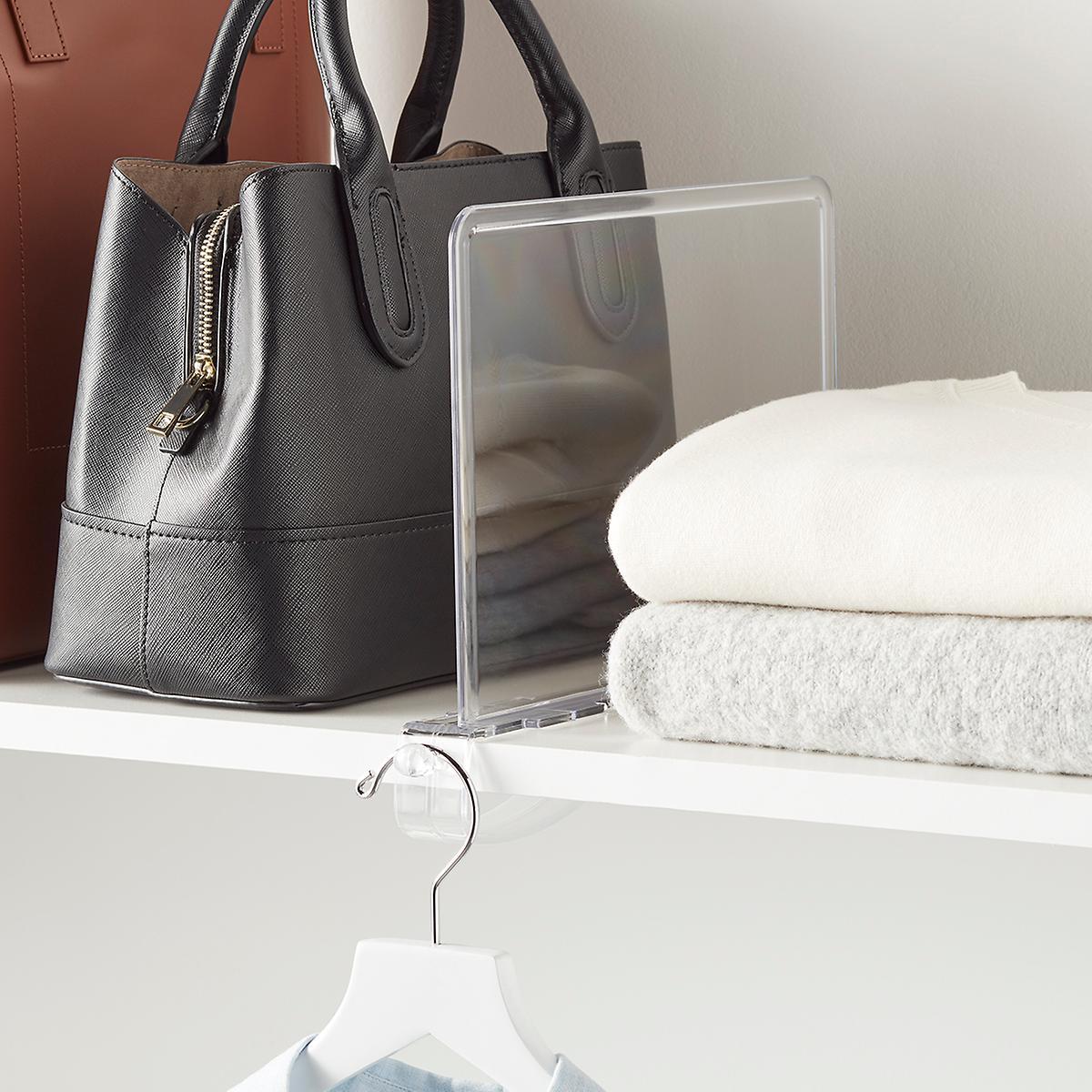3 phụ kiện tạo vách ngăn cho tủ quần áo vừa đẹp lại đơn giản mà bạn có thể mua  - Ảnh 6.