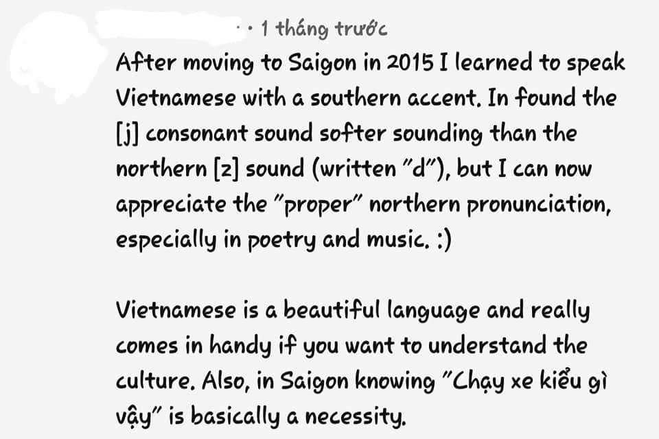 Người nước ngoài review tiếng Việt: Học 1 tháng không đánh vần được a, ă, â; sốc văn hóa vì mỗi từ You lại quá lắm cách gọi  - Ảnh 4.