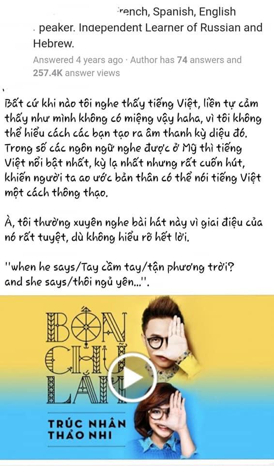 Người nước ngoài review tiếng Việt: Học 1 tháng không đánh vần được a, ă, â; sốc văn hóa vì mỗi từ You lại quá lắm cách gọi  - Ảnh 8.