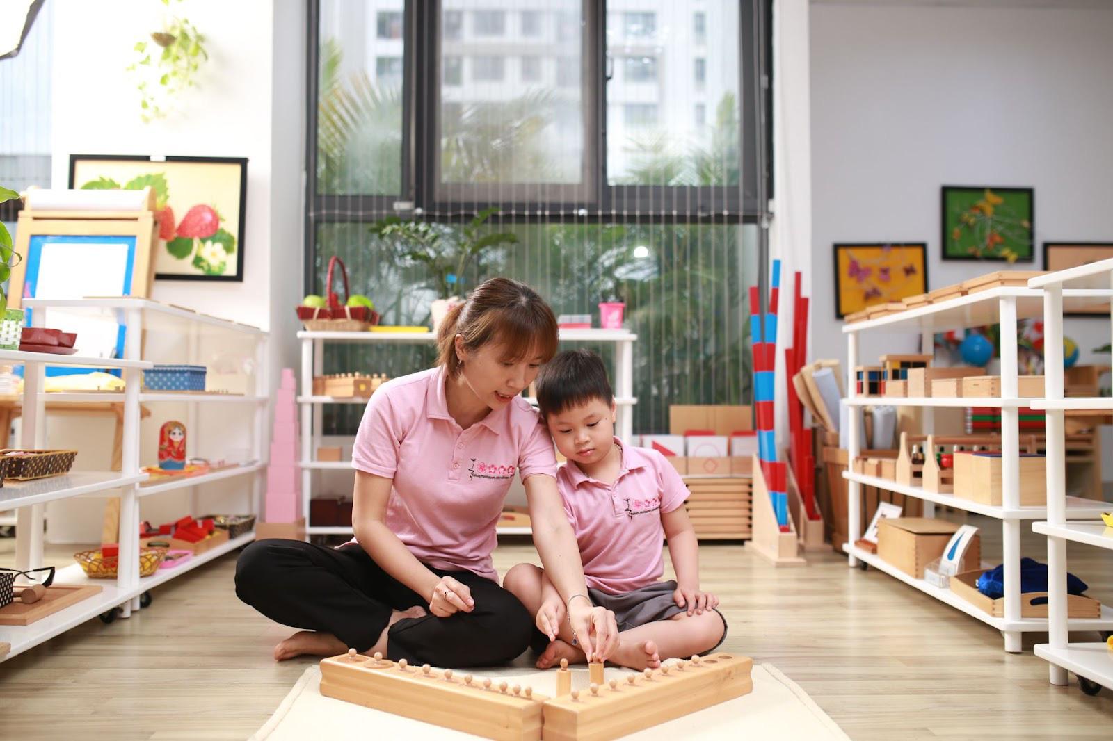 Học phí từ 3 - 5 triệu, chọn trường mầm non Montessori nào chất lượng cho con tại Nam Từ Liêm - Ảnh 3.