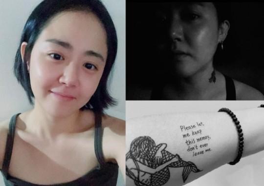 """Sau nhiều năm ở ẩn, """"em gái quốc dân"""" Moon Geun Young tái xuất với ngoại hình xăm trổ - Ảnh 2."""