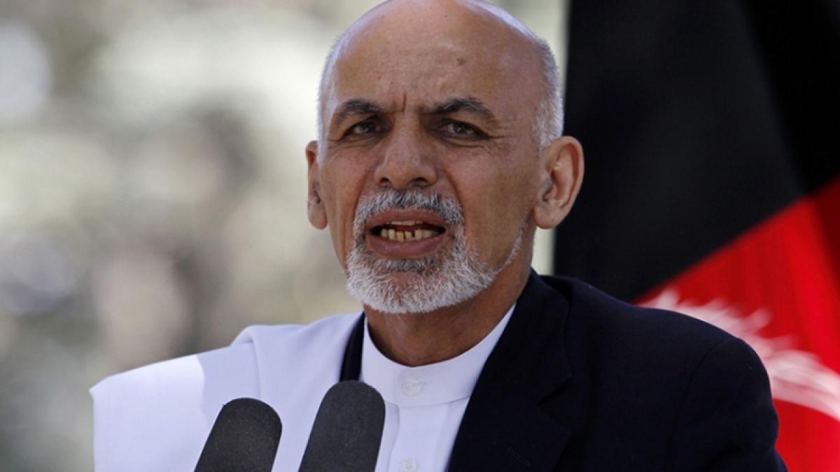 Tổng thống Afghanistan đang ở UAE - Ảnh 1.