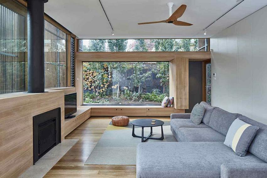 Căn nhà gỗ một tầng mang cuộc sống của gia đình trẻ hòa mình cùng thiên nhiên - Ảnh 7.