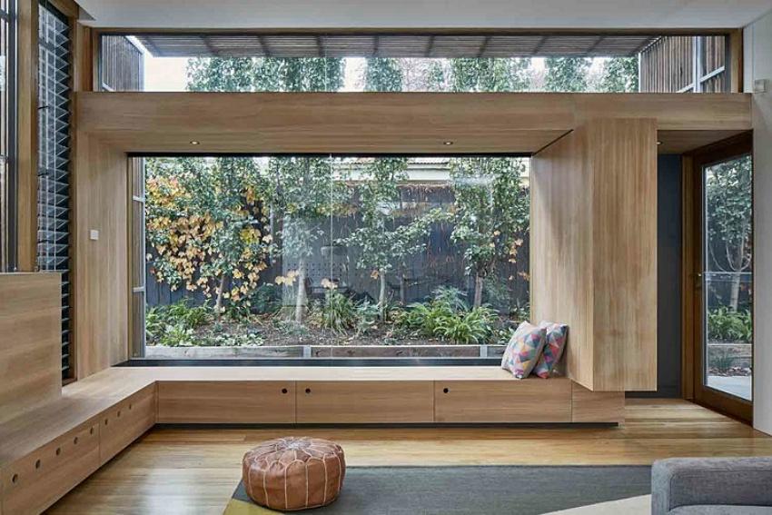 Căn nhà gỗ một tầng mang cuộc sống của gia đình trẻ hòa mình cùng thiên nhiên - Ảnh 9.