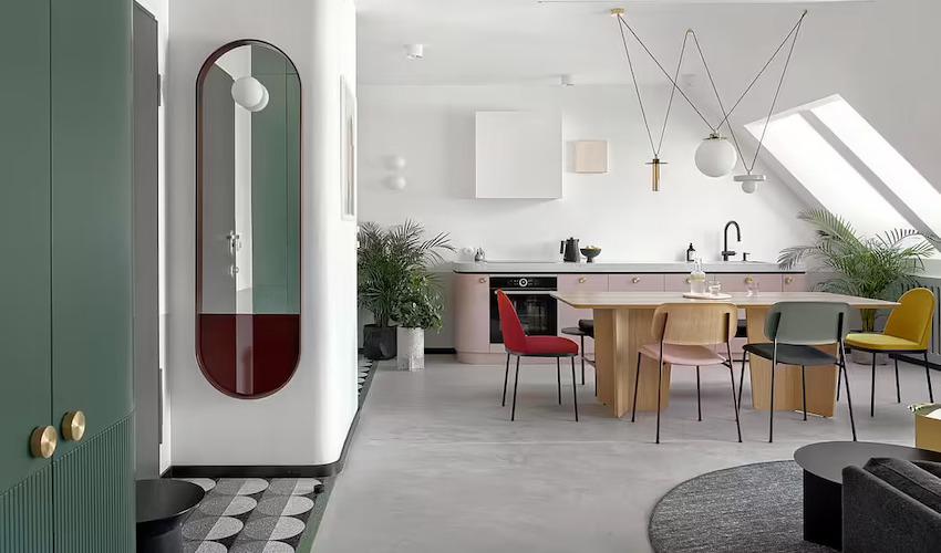 Căn hộ 42m2 decor tinh tế với nội thất và màu sắc hiện đại dành cho vợ chồng trẻ - Ảnh 1.