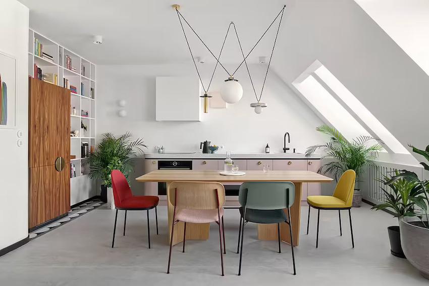 Căn hộ 42m2 decor tinh tế với nội thất và màu sắc hiện đại dành cho vợ chồng trẻ - Ảnh 2.