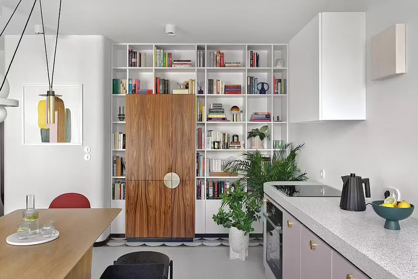 Căn hộ 42m2 decor tinh tế với nội thất và màu sắc hiện đại dành cho vợ chồng trẻ - Ảnh 3.