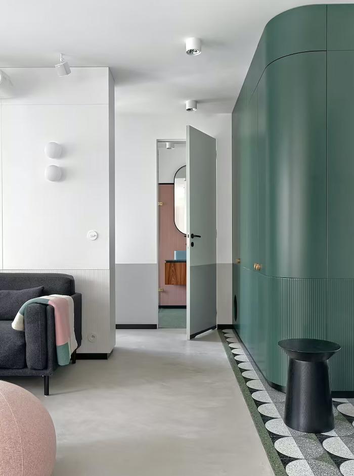 Căn hộ 42m2 decor tinh tế với nội thất và màu sắc hiện đại dành cho vợ chồng trẻ - Ảnh 5.