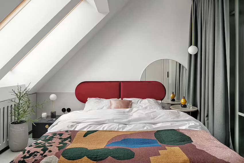 Căn hộ 42m2 decor tinh tế với nội thất và màu sắc hiện đại dành cho vợ chồng trẻ - Ảnh 6.