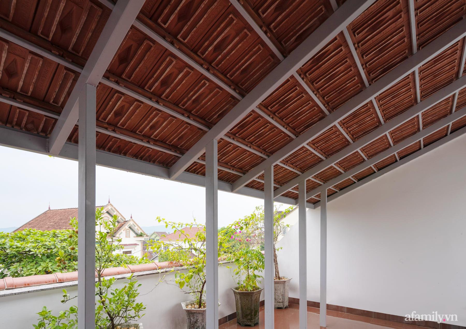 Ngôi nhà ngói gói gọn bình yên với những tiện nghi và hiện đại ở thị trấn nông thôn Nghệ An - Ảnh 6.