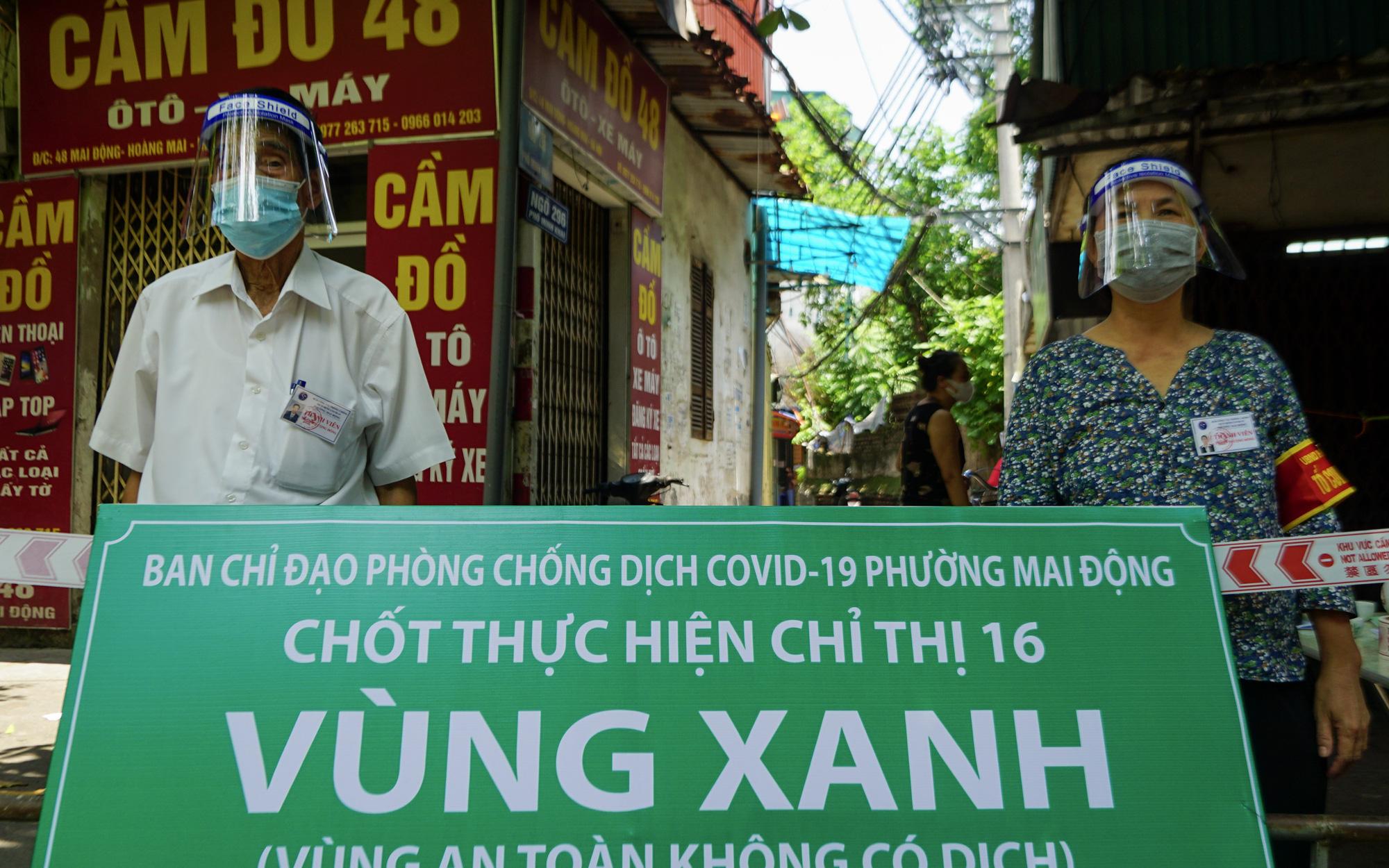 """Hà Nội lập các chốt """"vùng xanh"""" đầu tiên phòng dịch Covid-19, bảo vệ an toàn cho người dân nơi không có dịch"""
