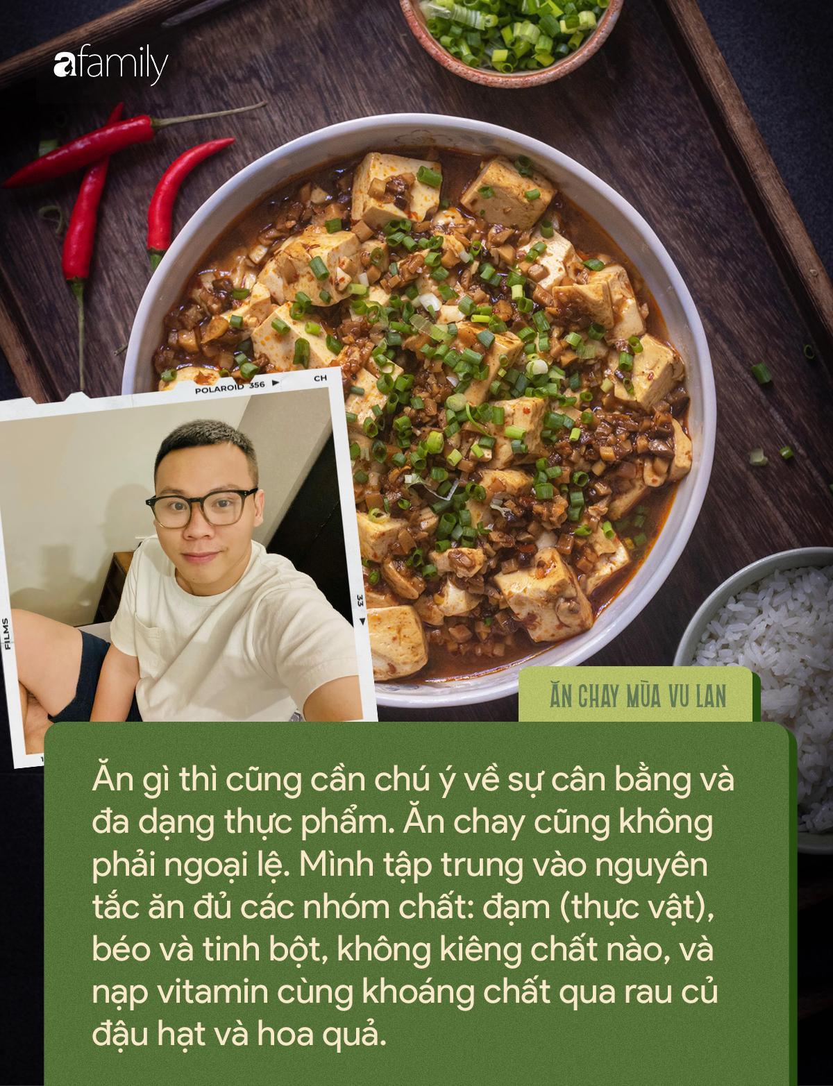 Chàng trai 9X tác giả của loạt món chay đẹp lung linh kể chuyện ăn chay vì môi trường và những quan điểm khiến ai cũng gật gù - Ảnh 4.