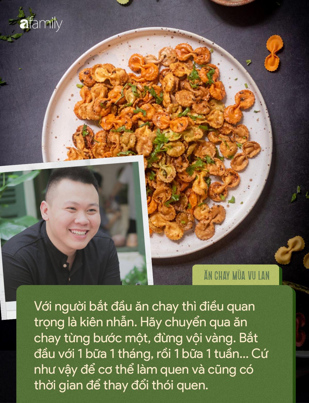 Chàng trai 9X tác giả của loạt món chay đẹp lung linh kể chuyện ăn chay vì môi trường và những quan điểm khiến ai cũng gật gù - Ảnh 12.