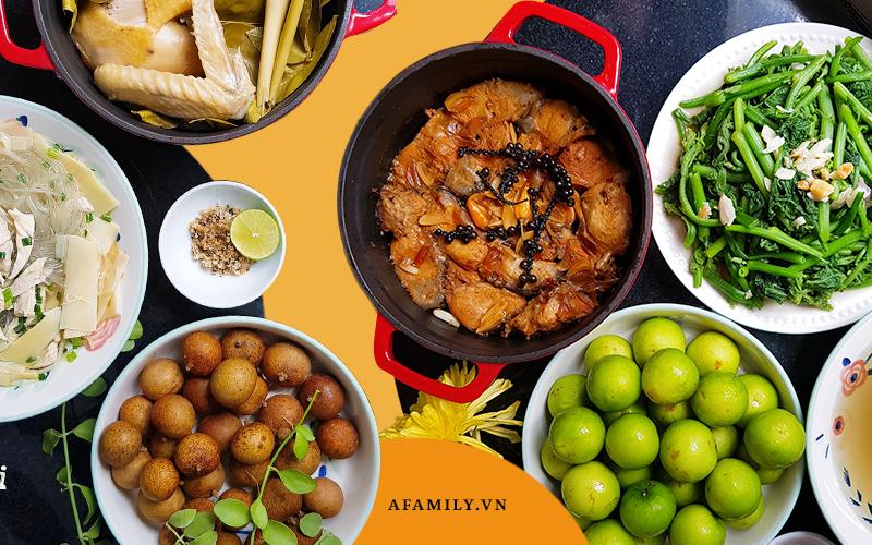 Vợ đảm Đồng Nai chia sẻ loạt mâm cơm 50-100k hấp dẫn, tiết lộ bí quyết đi chợ và bảo quản thực phẩm tươi ngon ngày dịch