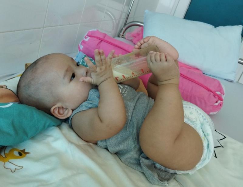 """Nữ điều dưỡng F0 xin ở lại khu điều trị làm """"bảo mẫu"""" cho các em nhỏ - Ảnh 5."""