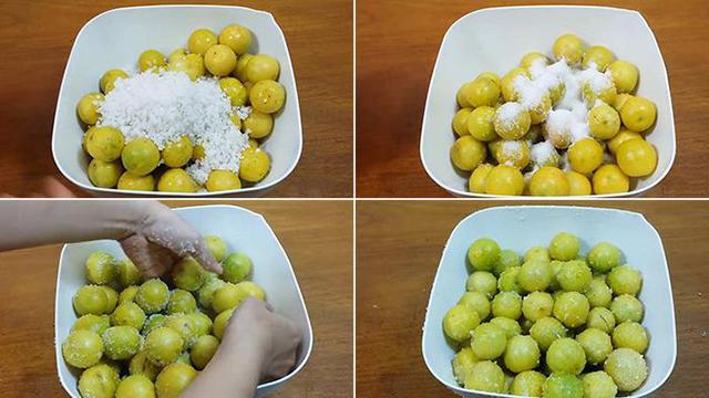 Mách chị em cách làm chanh muối vàng ươm, vỏ dẻo thơm ngon không bị đắng, không đóng váng - Ảnh 3.