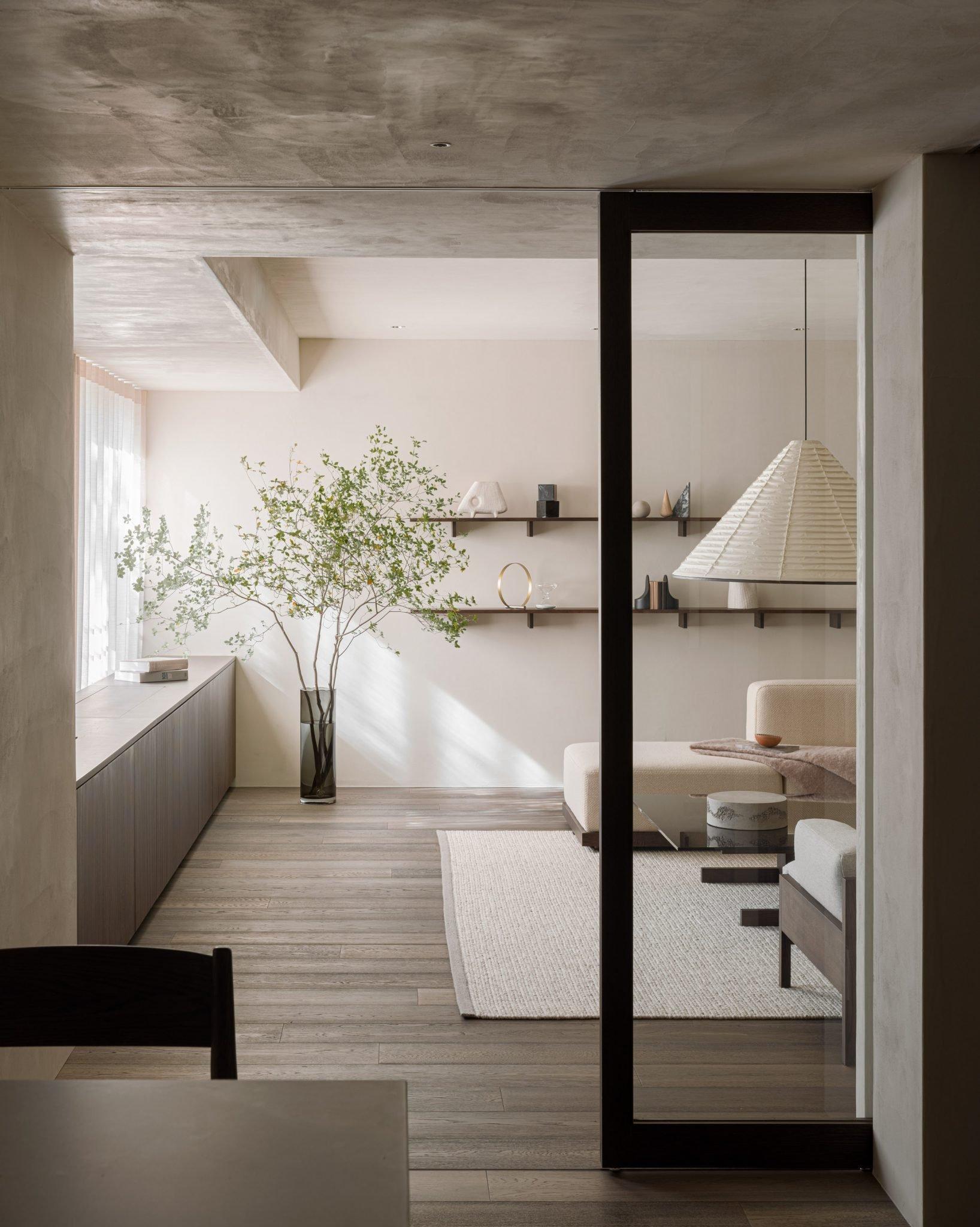 Những thiết kế phòng khách trang nhã, tinh tế lấy cảm hứng từ phong cách Nhật - Ảnh 6.