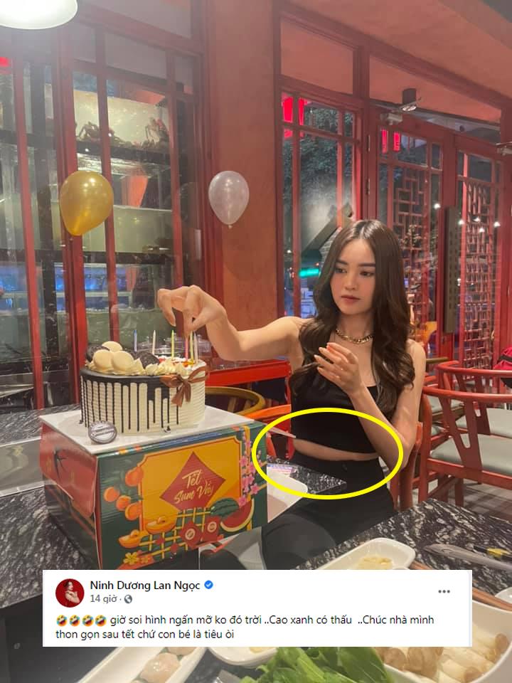 Ninh Dương Lan Ngọc diện sườn xám khiến netizen á ố, tắt app chỉnh ảnh thấy ngay body thật! - Ảnh 8.