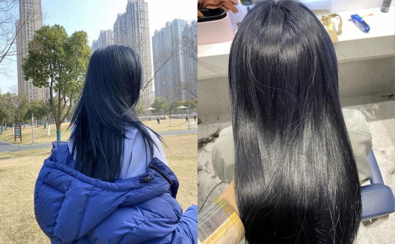tóc nhuộm công sở sáng da