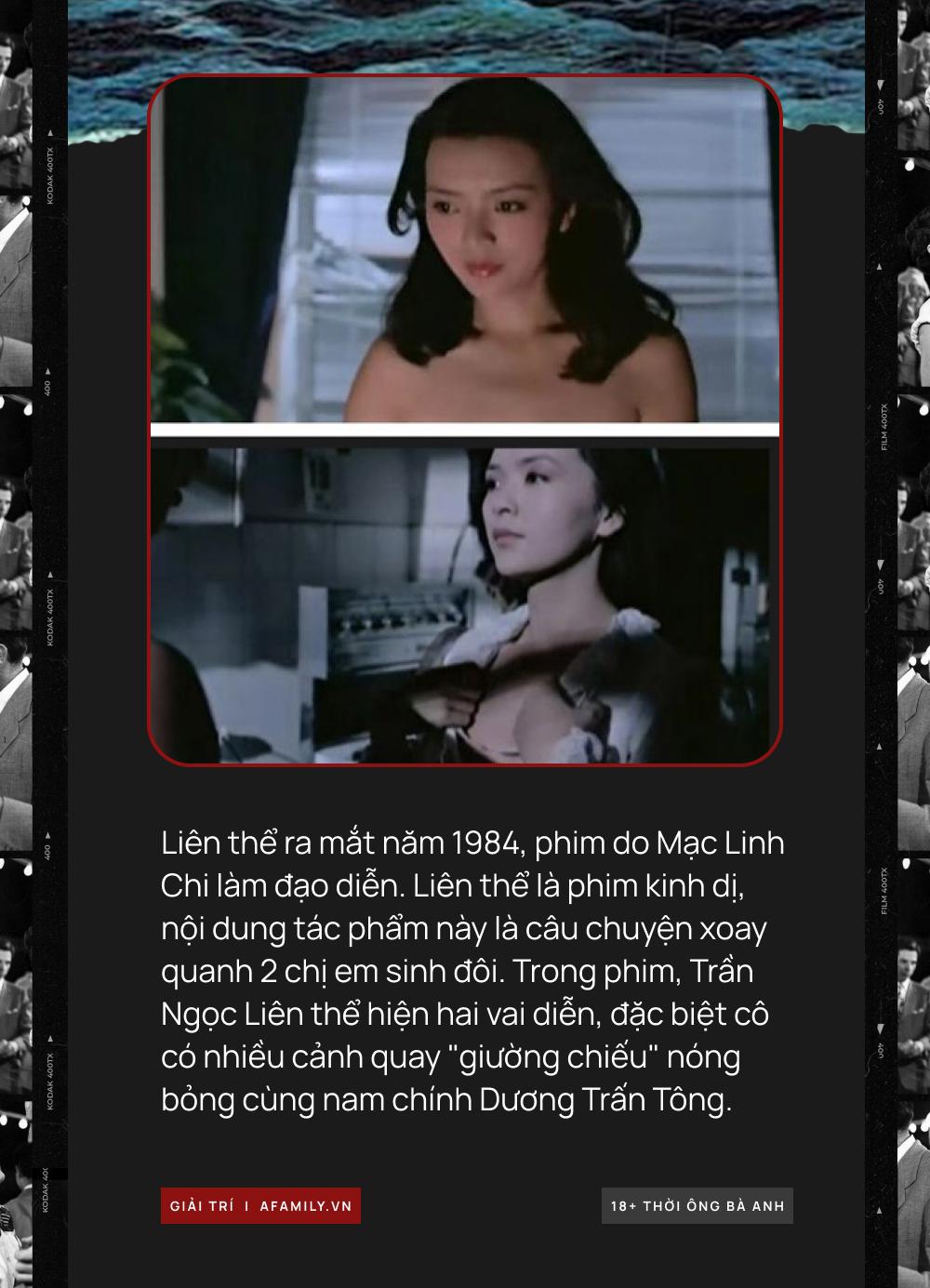 """Phim 18+ của Trần Ngọc Liên: Sụp đổ hình tượng """"Tiểu Long Nữ"""", tự sát vì Châu Nhuận Phát bất thành nên đóng phim cấp 3 - Ảnh 1."""