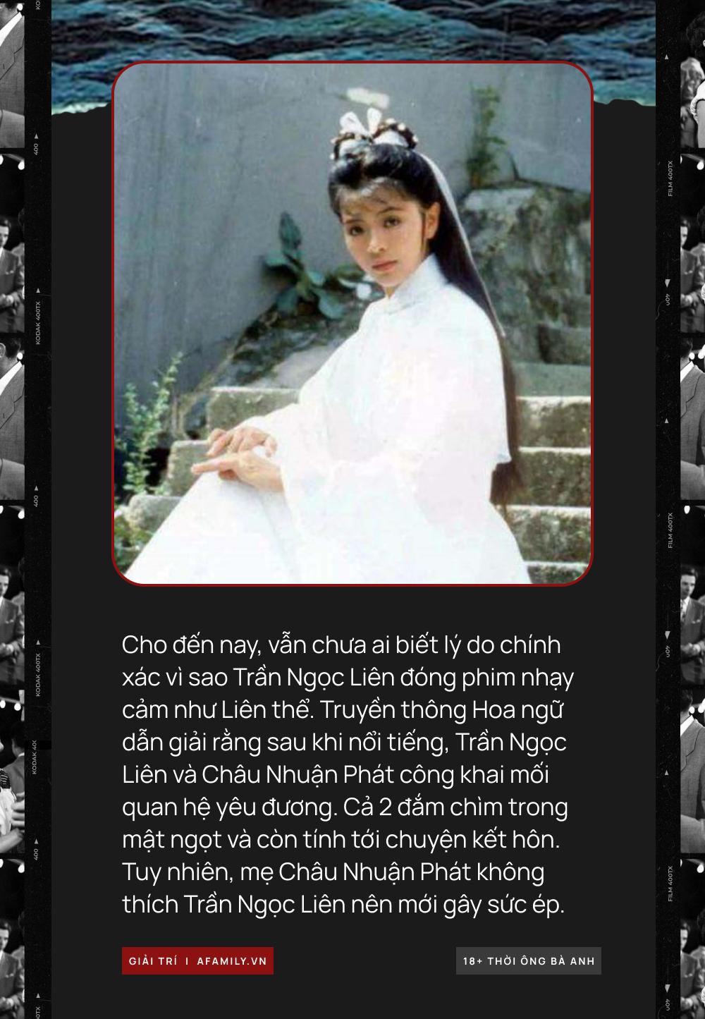 """Phim 18+ của Trần Ngọc Liên: Sụp đổ hình tượng """"Tiểu Long Nữ"""", tự sát vì Châu Nhuận Phát bất thành nên đóng phim cấp 3 - Ảnh 5."""
