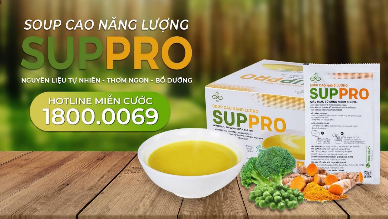 Hỗ trợ dinh dưỡng cho bệnh nhân ung thư bằng soup cao năng lượng - Ảnh 3.