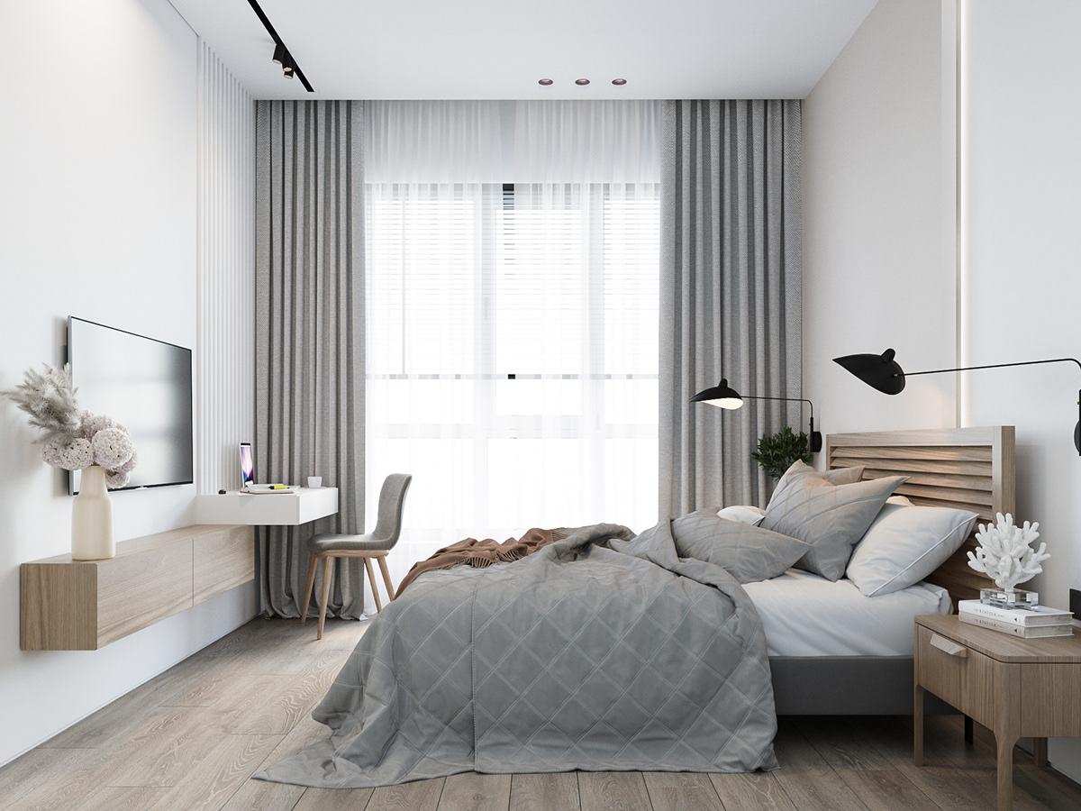 Kiến trúc sư tư vấn thiết kế nhà cấp 4 với diện tích 90m² chi phí tiết kiệm chỉ 180 triệu - Ảnh 8.