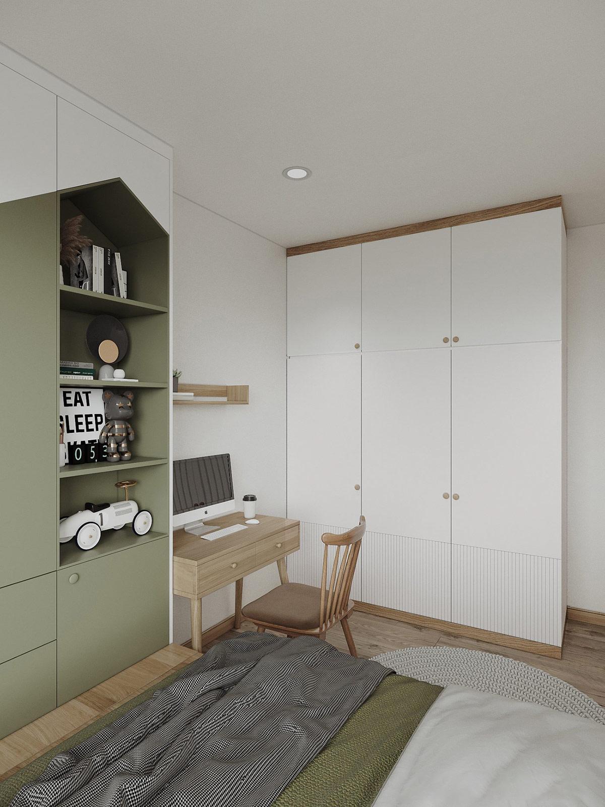 Kiến trúc sư tư vấn thiết kế nhà cấp 4 với diện tích 90m² chi phí tiết kiệm chỉ 180 triệu - Ảnh 10.