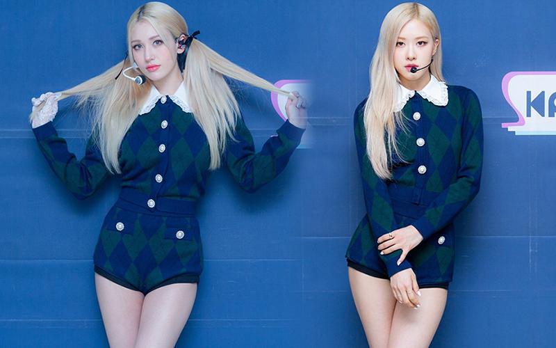 """Cosplay Rosé """"y xì đúc"""", Somi được netizen bênh vực nhưng fan vẫn lấn cấn bực bội với stylist - Ảnh 2."""