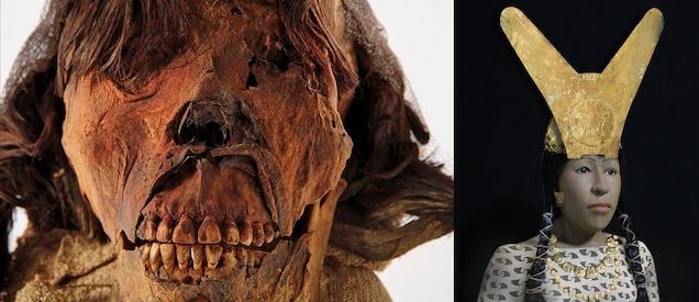 """Tái hiện khuôn mặt xác ướp quý bà từ xác ướp ghê rợn như """"quái vật"""", các nhà khoa học ngỡ ngàng nhan sắc người phụ nữ sống cách đây 1.600 năm - Ảnh 3."""