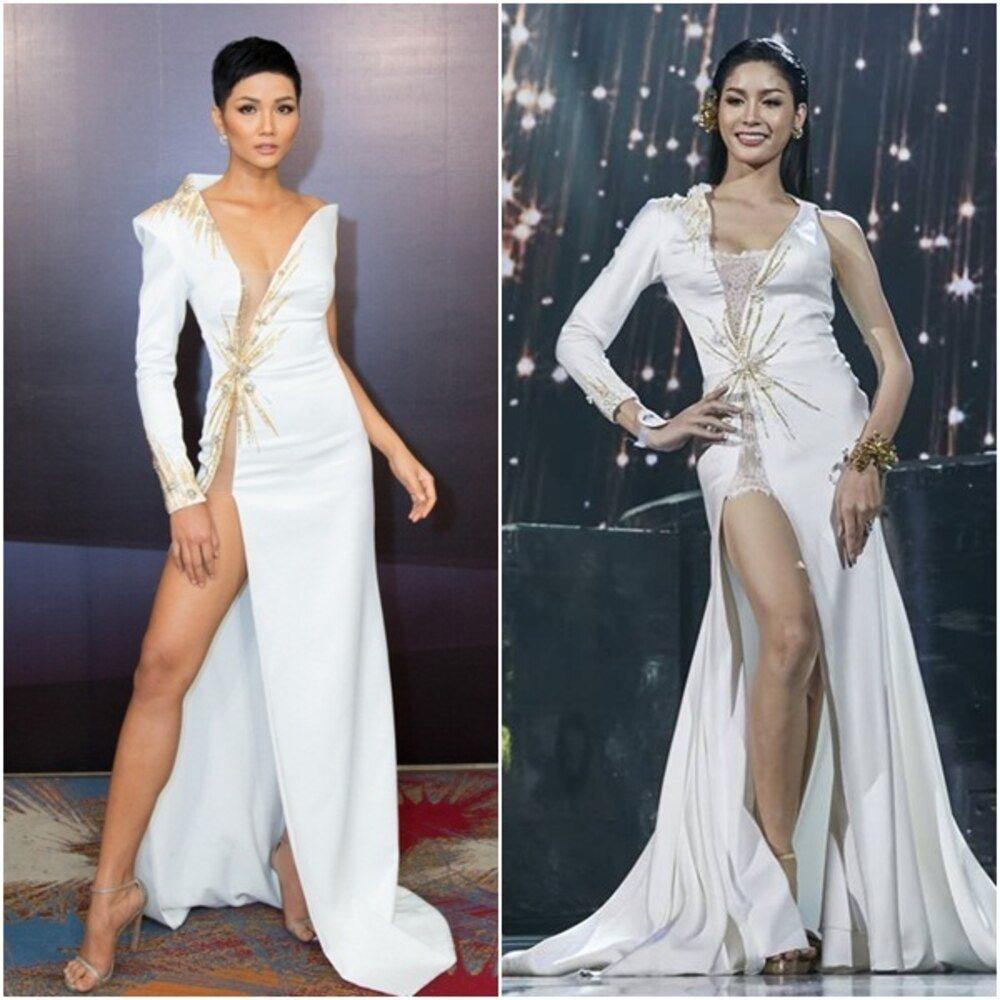 Cuối cùng Hoa hậu - Á hậu Việt cũng trở thành nạn nhân trong những nghi án đạo nhái trang phục? - Ảnh 6.