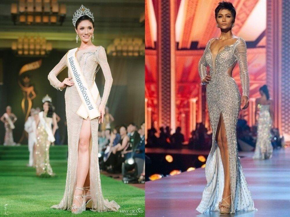 Cuối cùng Hoa hậu - Á hậu Việt cũng trở thành nạn nhân trong những nghi án đạo nhái trang phục? - Ảnh 9.