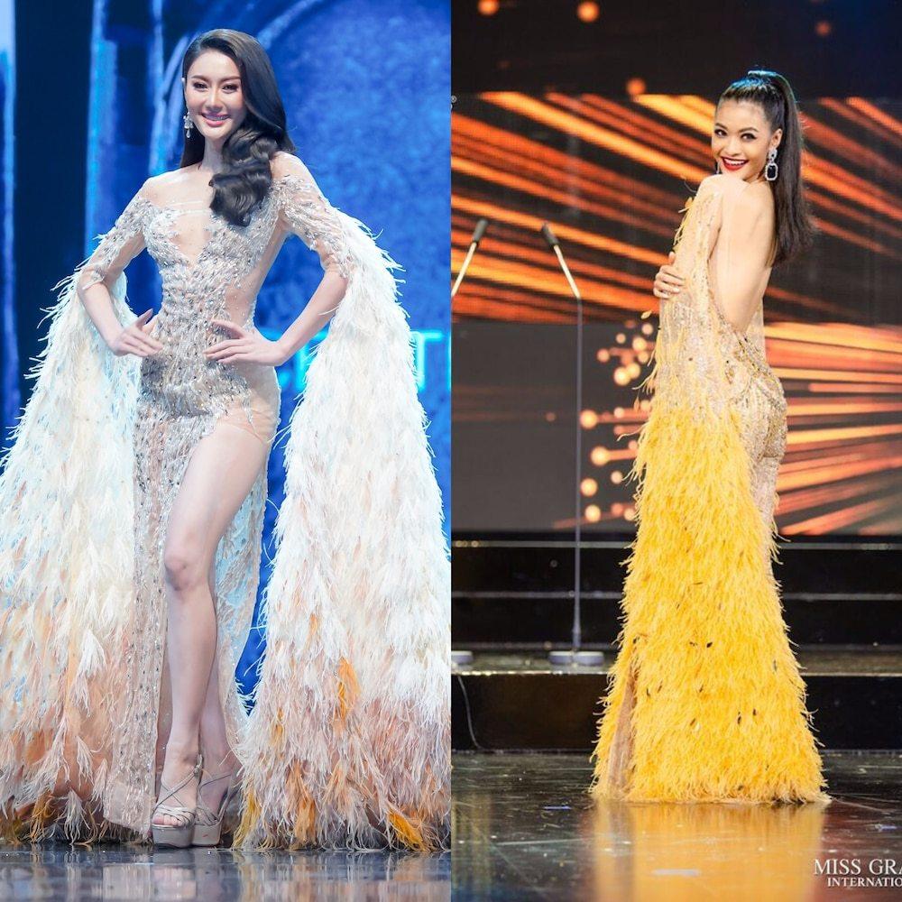 Cuối cùng Hoa hậu - Á hậu Việt cũng trở thành nạn nhân trong những nghi án đạo nhái trang phục? - Ảnh 11.