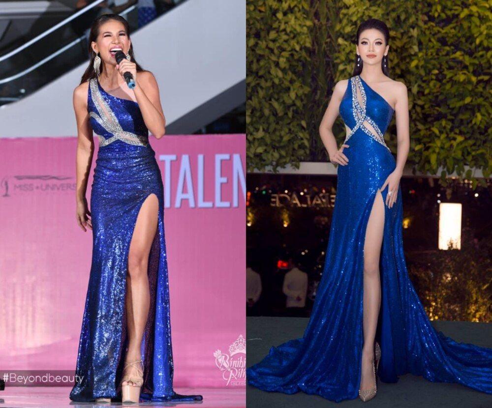 Cuối cùng Hoa hậu - Á hậu Việt cũng trở thành nạn nhân trong những nghi án đạo nhái trang phục? - Ảnh 13.