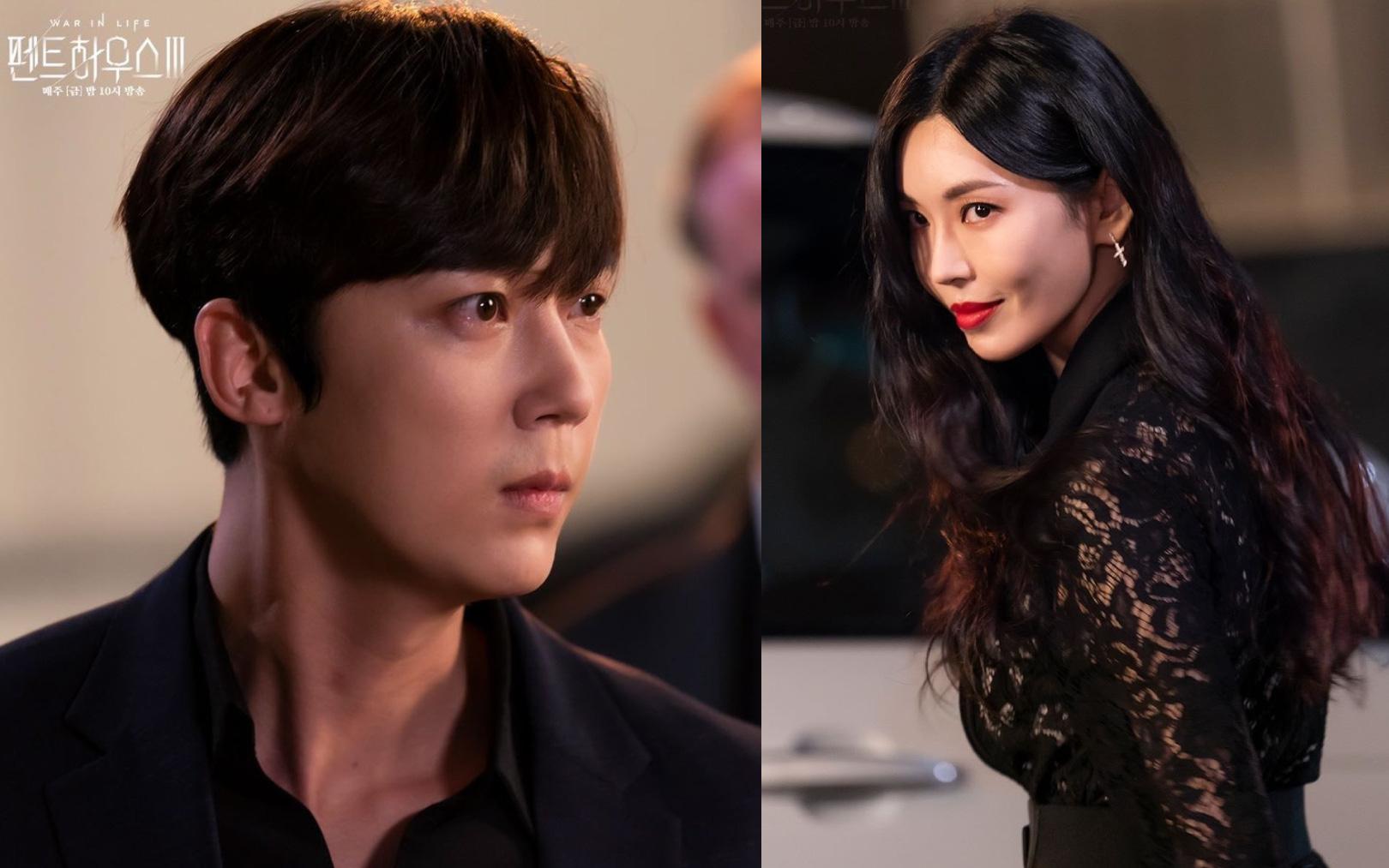 """Cuộc chiến thượng lưu 3 tập 9: Seo Jin lại trở mặt hại chồng cũ Ha Yoon Cheol """"lên bờ xuống ruộng""""?"""