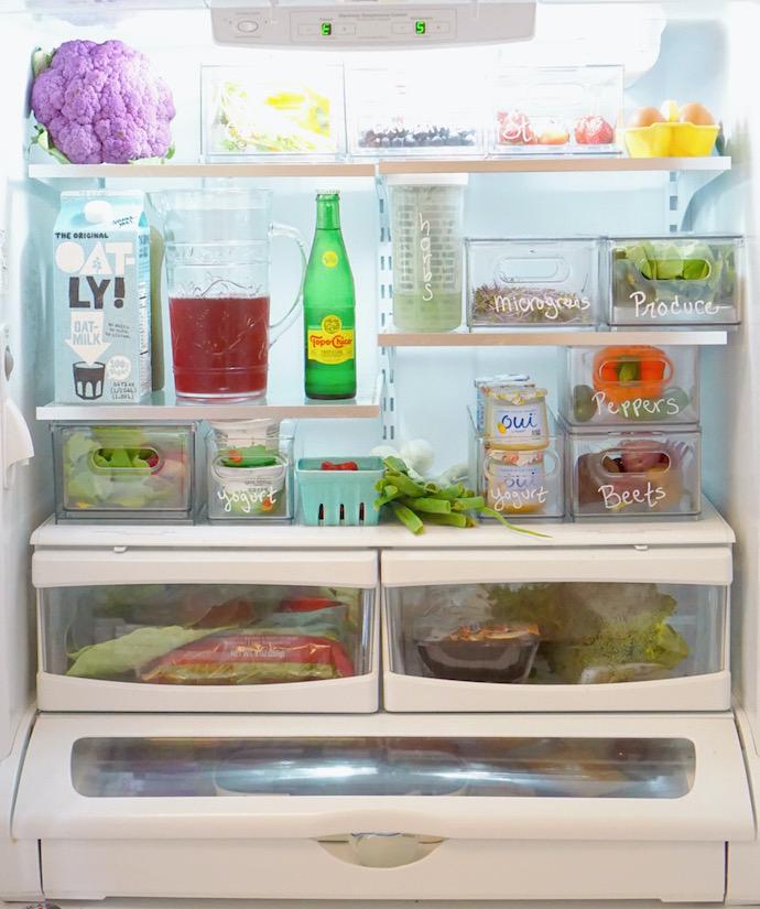 """Tôi đã """"xử đẹp"""" chiếc tủ lạnh đang ngổn ngang đồ đạc chỉ với cách đơn giản này - Ảnh 4."""
