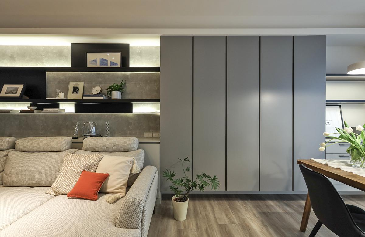 Căn hộ đầy nắng với góc nào cũng riêng tư, hiện đại dù diện tích khiêm tốn - Ảnh 3.