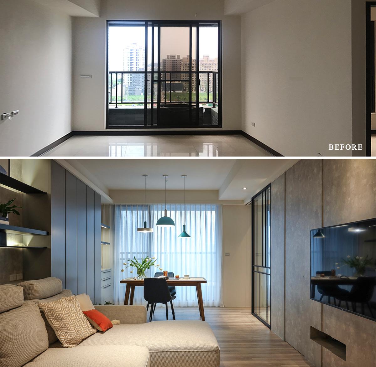 Căn hộ đầy nắng với góc nào cũng riêng tư, hiện đại dù diện tích khiêm tốn - Ảnh 6.